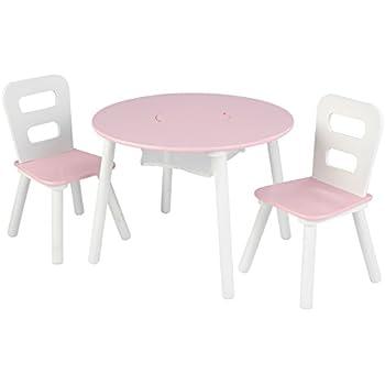 2 chaises en pin Massif pour Enfants Couleur:Bleu Petit Bureau Enfant//Mobilier Enfant pour Jouer et Peindre SunDeluxe Ensemble Table et chaises pour Enfants: 1 Table