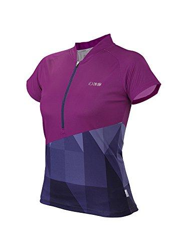IXS Damen Jersey Sablun purple/Blue, 42