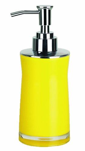 spirella sydney sapone  Spirella Sydney 10.11350 Dosatore per sapone in acrilico colore: Giallo