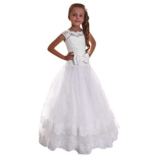Loveso Mädchen Prinzessin Kleid Mädchen Prinzessin Kinderkleid Partykleid Tutu Tüll Kleid Party...