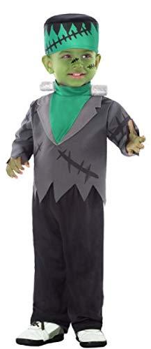 Fancy Me Baby Kleinkind Jungen süß gruselig gruselig gruselig grün TV Monster Frankenstein Halloween Karneval Buch Tag Kostüm - Frankenstein Kostüm Für Kleinkind