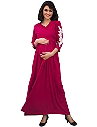8217c1090aa1e MOMZJOY Maternity Dresses Online: Buy MOMZJOY Maternity Dresses at ...