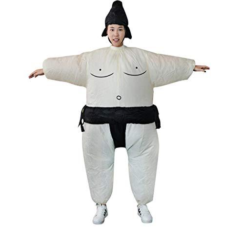 Tree-on-Life Fan aufblasbare Sumo Kleid Neuheit Fat Man und Frau Suite Fat Masked Suit Fancy Blow Up Dress Wrestler Kostüm (Fat Blow Up Suit)