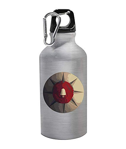 IDcommerce Women Tv Series Ceiling Portrait Thermo Trinkflasche Carabine Metal Flasche 300ml -