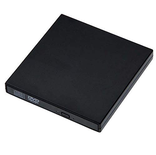CE-LXYYD External optical drive recorder, DVD USB external mobile optical drive, computer universal,Black