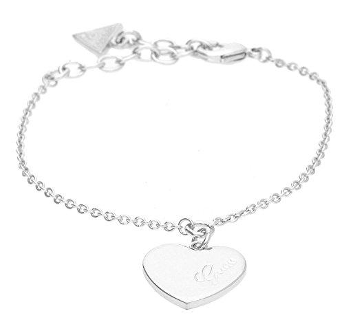 bracciale donna gioielli Guess Heartbeat trendy cod. UBB61043-S