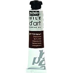 Pébéo Huile d'Art - Tubo de pintura al óleo (20 ml), color sombra tostada