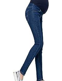 eb0377bed7ee HX fashion Jeans Premaman Jeans Gravidanza Jeans Skinny in Gravidanza Jeans  Chic Abbigliamento Premaman Pantaloni Jeans