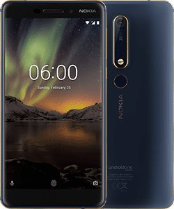 Nokia 6.1 Blue+Gold 4gb 64gb