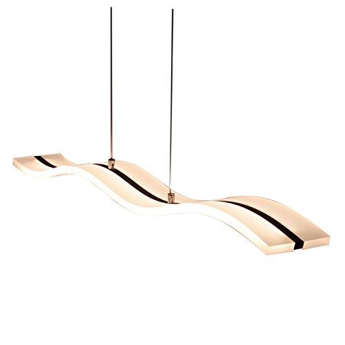 Moderne LED-Deckenleuchte, Wellen-Form, 40W