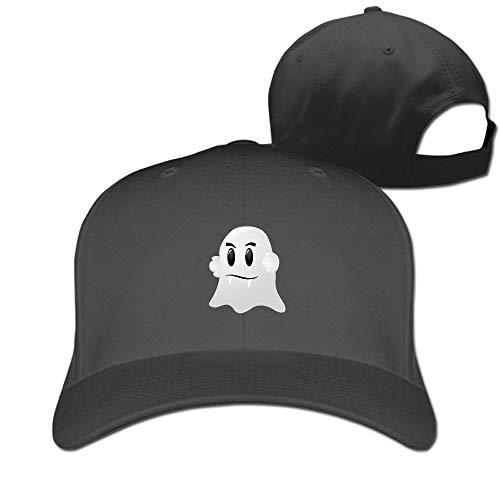 Halloween Ghost Vampire Teeth Vintage Pure Color Baseball Caps Unisex