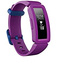 Fitbit Unisex Youth Ace 2 Activity Tracker for Kids, Black, One Size