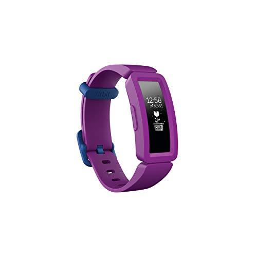 Fitbit Unisex Jugend Ace 2 Aktivitäts-Tracker für Kinder, Traube, One Size