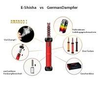 E-Shisha Amanoo I Set rot - 31,5cm groß - eHookah elektronische Shisha von E-Shishas/Hookahs