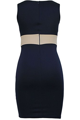 E-Girl femme Bleu SY6693 robe de cocktail Bleu