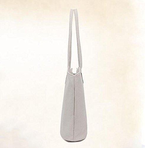 Modische Kunst Leinentasche Schulter Lässig Tott Handtasche Handtasche Blue