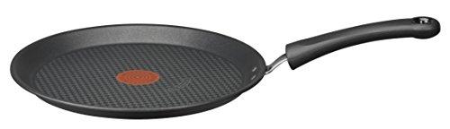 Tefal E4663802 Hard Titanium Crêpière Aluminium Noir Diamètre 25 cm