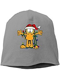 Christmas Specials Garfield Beanie Knit Hat Toboggan RoyalBlue