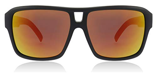 Dragon Sonnenbrille Matte Black Red Ion THE JAM 22508-022