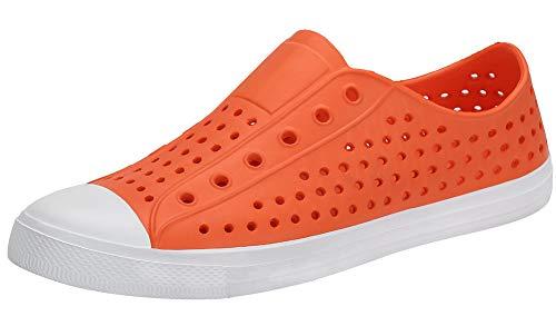SAGUARO Zuecos de Mujer Sandalias Verano Zapatos de Agua Zapatillas de Jardín Antideslizantes Secado...