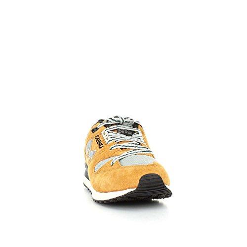Karhu Sneaker Synchron Classic in Suede Giallo Giallo