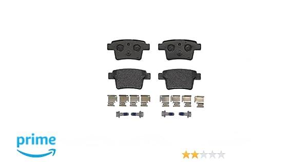 BP986 Disc Brake Rear Axle Break Pad Set Replaces 1356392 Bosch 0986494076