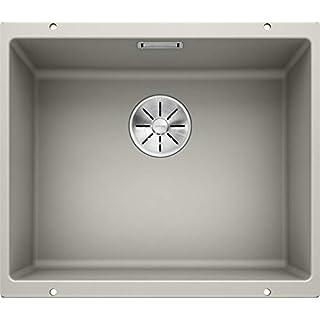 Blanco Subline 500U 523435Kitchen Sink, Pearl Grey