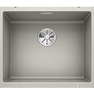 Blanco subline de 500U 523435fregadero de cocina color Gris Perla