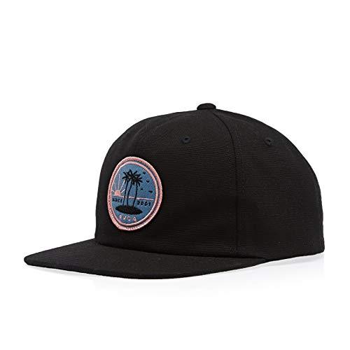 RVCA Tropics Snapback Cap One Size Black - Rvca Baseball