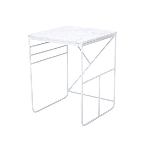 CB Marmortisch, Nordischen Stil Wohnzimmer Platz Kleine Quadratische  Tabelle Ecktisch Couchtisch Schmiedeeisen Freizeit Tisch