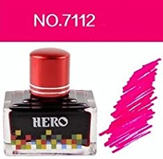 Success Stationery Hero Fountain Pen Extra Colour Noncarbon Nonblocking ink - 7112