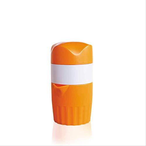 Manuelle Zitruspresse für Orangen-Zitronenfruchtsaftpresse für Kinder und gesundes Leben, tragbar