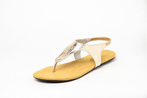 Do Bhai Women's Mannu-2 Pu Fashion Sandal Size: 8 Uk