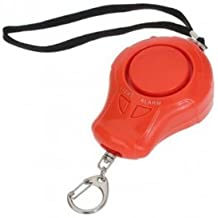 320rojos Laute Ton Security Alarma Personal con intermitente