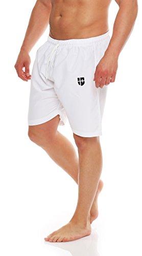 Gennadi Hoppe Pantalones cortos hasta la rodilla traje de baño de los hombres