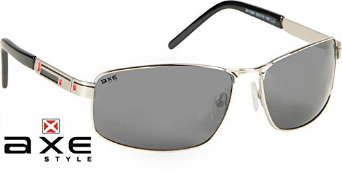 Axe Style XSG518 HIGH Quality aviator sunglasses (Black) + Stylish Case