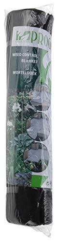 telo anti-erbacce da 48m², telo pacciamante per giardino in tessuto non tessuto, resistente ai raggi uv, consegnato in 4rotoli da 8m x 1,5m = 48m² ciascuno