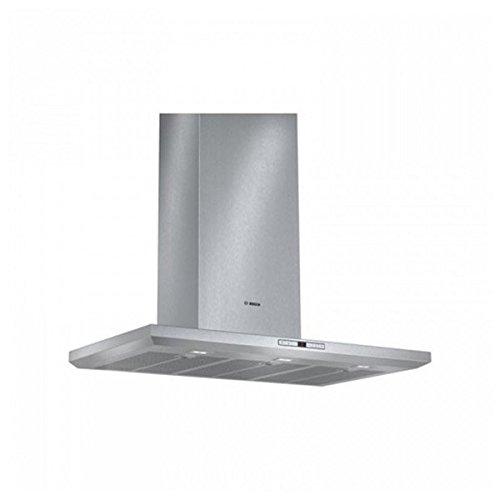 Bosch DWB091U50 - Campana (Montado en pared, Canalizado/Recirculación, A+, LED, Acero inoxidable,...