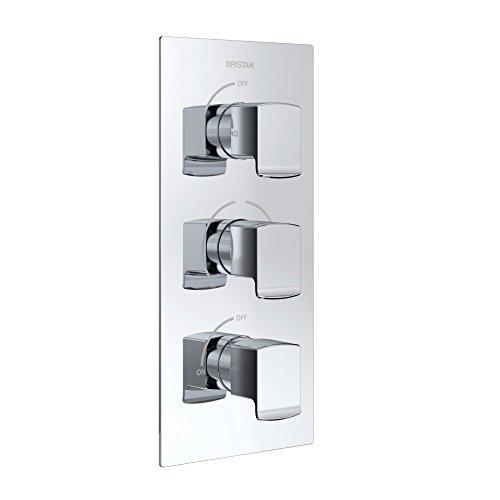 Bristan COB shc3stp C cobalto termostático Dual Control válvula de ducha empotrada...