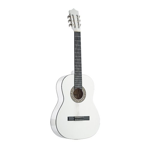 Stagg C542 - Guitarra clásica, 4/4, color natural oscuro