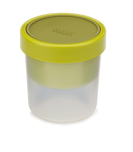 Joseph Joseph GoEat Suppenbecher/600ml/300ml/Platzbesparende Suppenbecher/Silikondeckel (Tivoli-box)