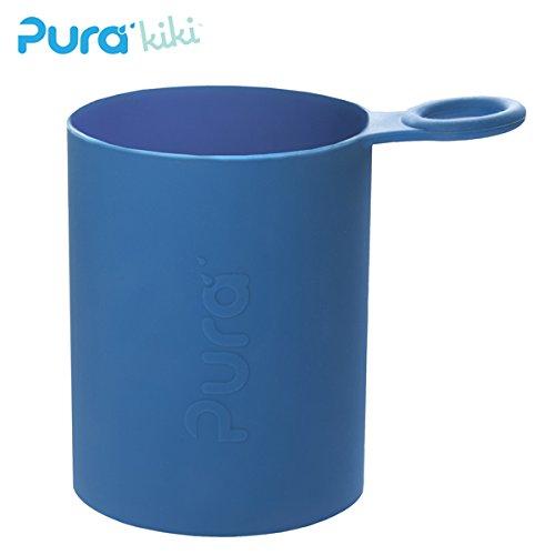 Pura Kiki - Sport Silikonüberzug (Sleeve) - 500ml/800ml Pura Farbe Dunkelblau