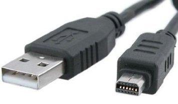 12broches Digital Camera USB Data Cable For Olympus FE140/U830/U840/u850/D425/D435, longueur: 1.5m by Network Trading®