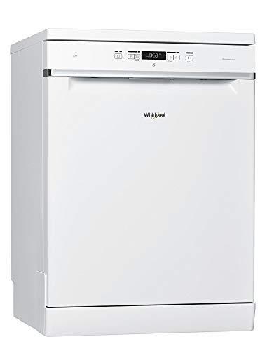 Lave vaisselle Whirlpool WFC3C22P - Lave vaisselle 60 cm - Classe A++ / 42 decibels - 14 couverts - Blanc bandeau : Blanc - Pose libre