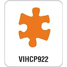 Artemio–Perforadora de palanca de Puzzle de 3,5cm, color naranja