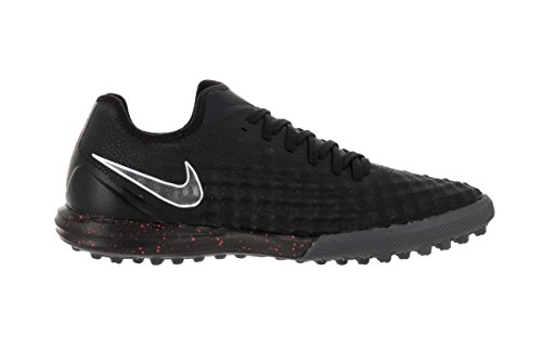 Nike Magistax Finale Ii Tf, Chaussures de Football Homme Noir (Black / Black-total Crimson)