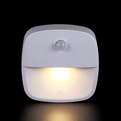 BX-XIAO Nachtlicht Warm White LED Bewegungssensor Stick-Anywhere Closet Licht Wandleuchte Für Schlafzimmer Badezimmer Küche Flur Treppen