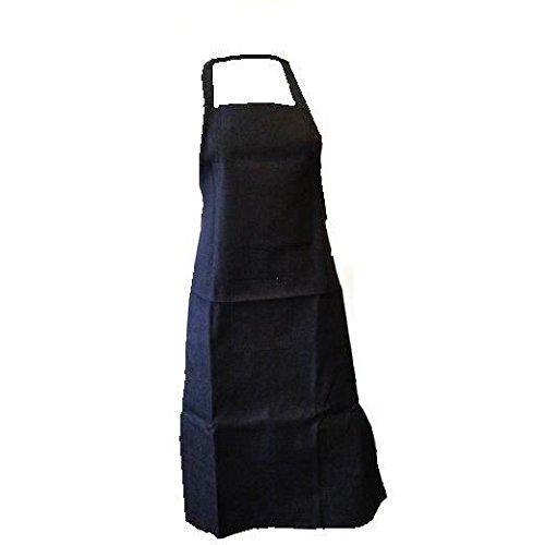 Tablier long en jeans de cuisine ou bricolage jardinage d'atelier