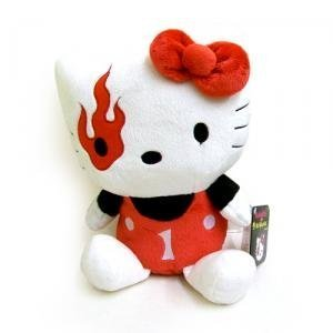 Hello Kitty - Mad Barbarians Plush - Red -