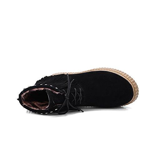 BalaMasa Abl10001, Sandales Compensées femme Noir